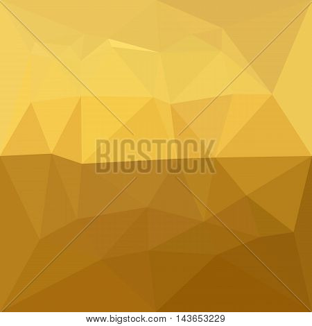 Low polygon style illustration of a light goldenrod abstract geometric background.