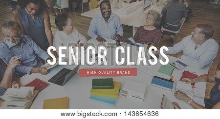 Senior Education Team Graphic Concept