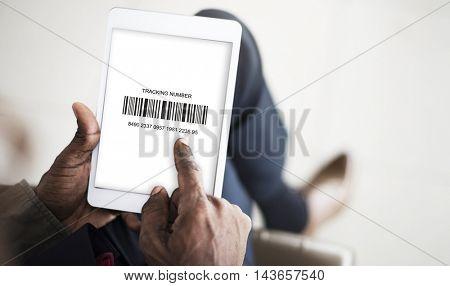 Barcode Label Merchandise Information Concept