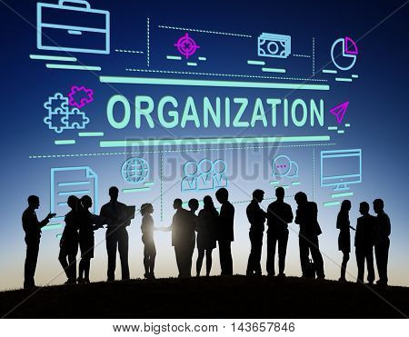 Organization Business Collaboration Company Concept