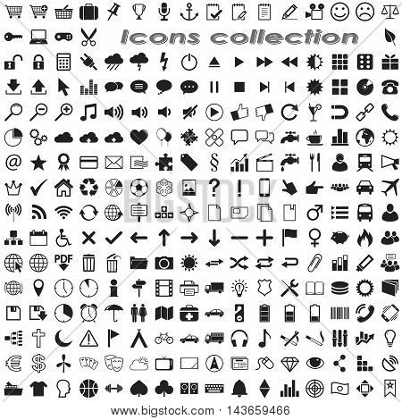 Big Business Icon Collection