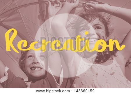 Recreation Calm Chill Happiness Relax Vacation Concept