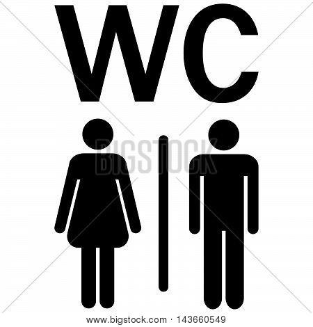 Wc Sign Men Women