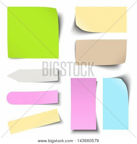 Colored Sticky Notes Collection