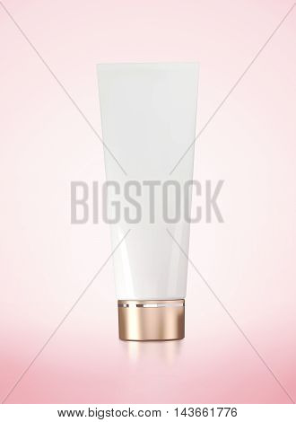 tube plastic packaging product 3D render image