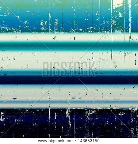 Old crumpled grunge background or ancient texture. With different color patterns: black; green; blue; white; cyan