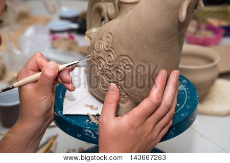 Pottery - The Hands Of The Potter Masters
