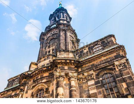 Kreuzkirche Dresden Hdr