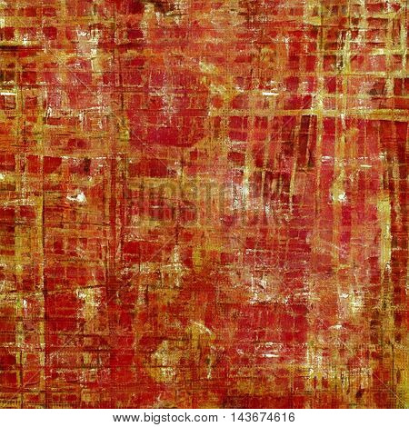 Old crumpled grunge background or ancient texture. With different color patterns: yellow (beige); brown; red (orange); pink