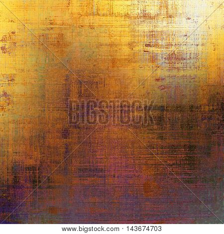 Abstract faded retro background or shabby texture with vintage style design and different color patterns: yellow (beige); brown; red (orange); purple (violet); gray; pink