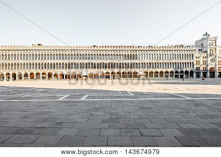 Procuratie Vecchie building on San Marco square in Venice