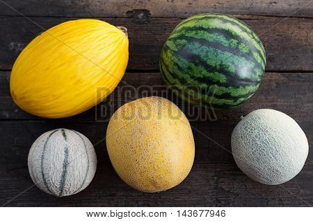 Lot Of Melons