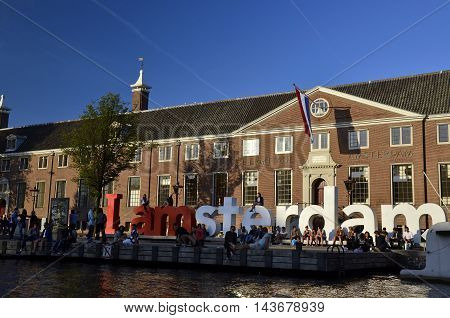 The Iamsterdam Sign And The Hermitage