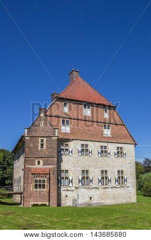 Castle Kolvenburg In Historical City Billerbeck