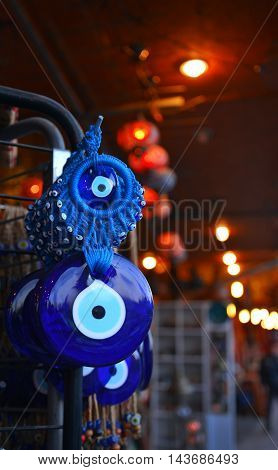 blue bead, turkey, good luck symbol, glass art