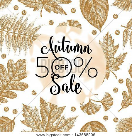 Etching Leaves Sale_10.eps
