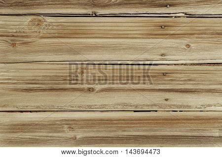 Brown Yellow Barn Wooden Boards Panel with nails For Modern Vintage Home Design Textured Background