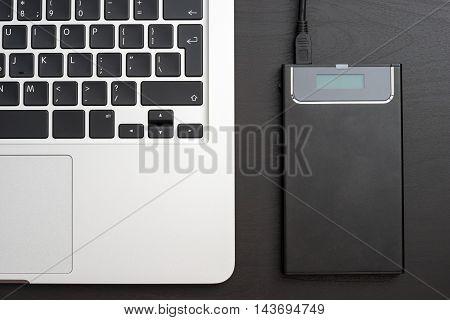 External Hdd Over Laptop