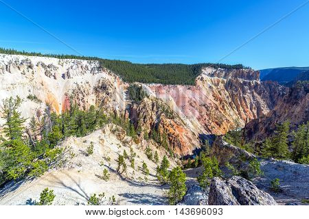 Grand Canyon Of The Yellowstone View
