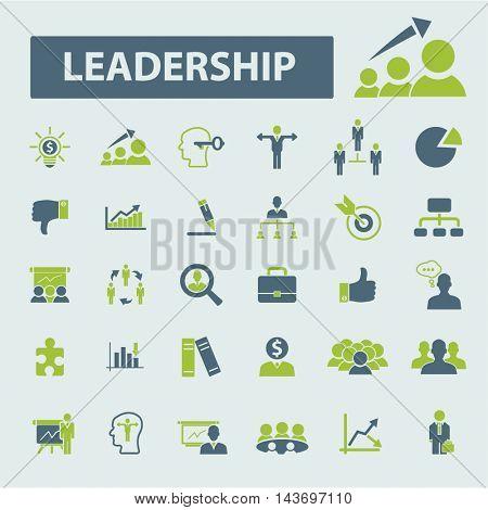 leader team icons