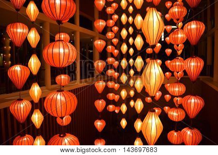 vietnum lantern festival fue hoi-an beautiful light