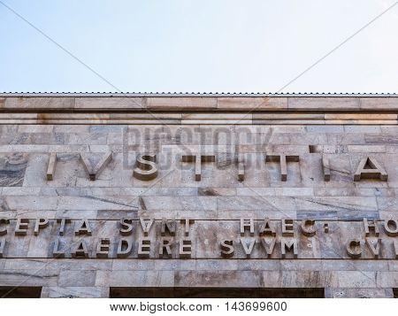 Milan Tribunal Court (hdr)