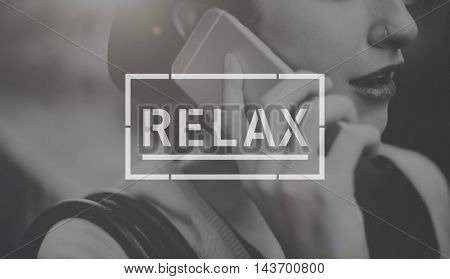 Relax Relaxation Peace Serenity Concept