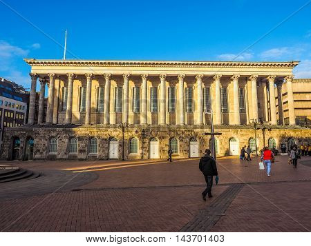 City Hall In Birmingham (hdr)