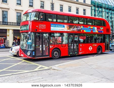 Double Decker Bus (hdr)