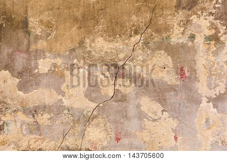 Background Texture From Old Wall