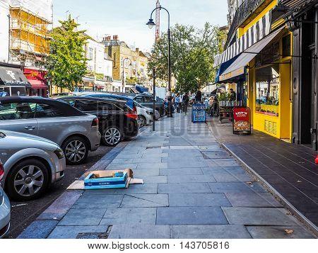 Street In London (hdr)