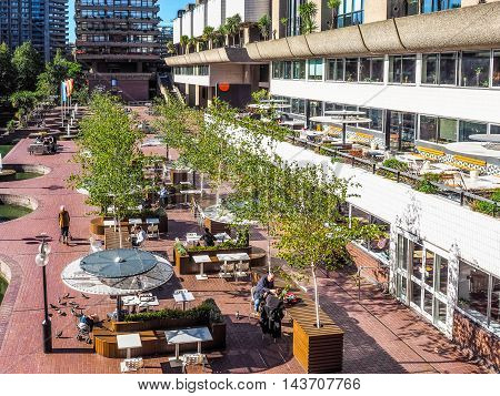 Barbican Centre In London (hdr)
