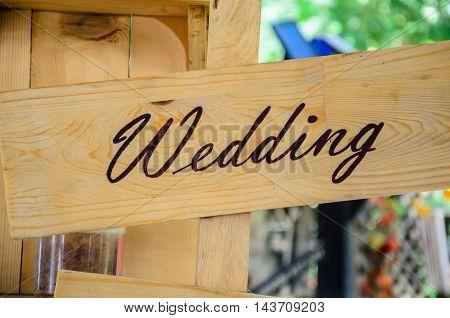Wedding bar sign indoor, wood idea sign