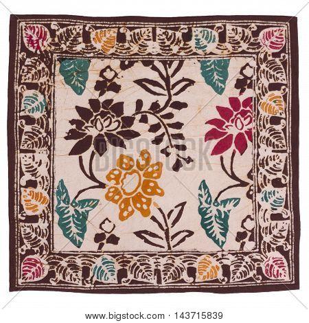 Bali indonesian batik textile fabric