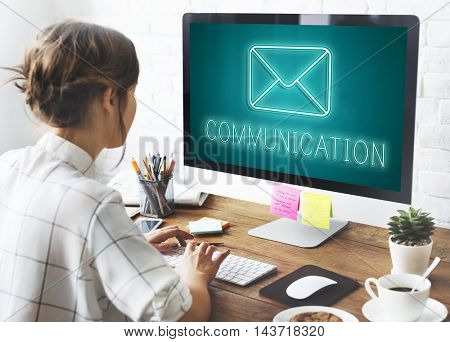 Message Letter Envelope Chat Graphic Concept