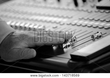 A Professional Audio Mixer