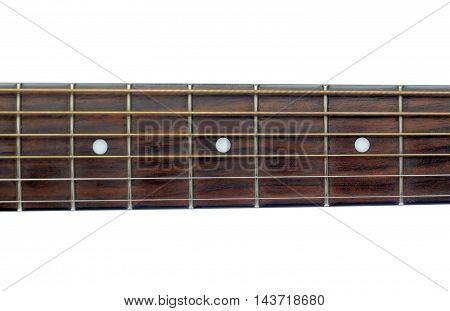 Photo details acoustic guitar ( neck ) .