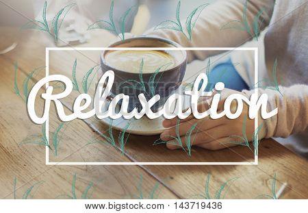 Break Tea Coffee Time Relax Concept