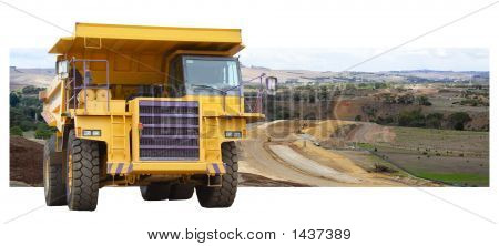 Mining Truck Pano