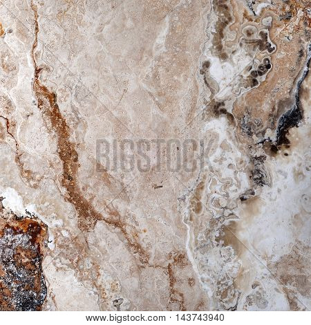 Onyx Travertine Square Tile Texture for design