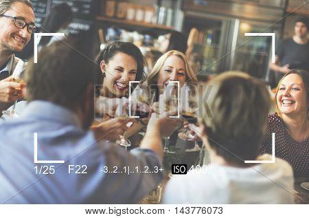 Camera Shot Frame Zoom Screen Concept