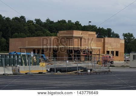 Outback Steak House, West Manchester Mall - under construction York, Pennsylvania, USA - July, 31, 2016