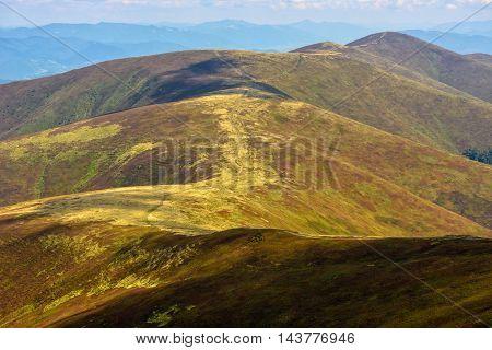 Road Through A Mountain Range