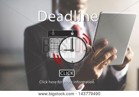 Deadline Appointment Organizer Plan Reminder Concept