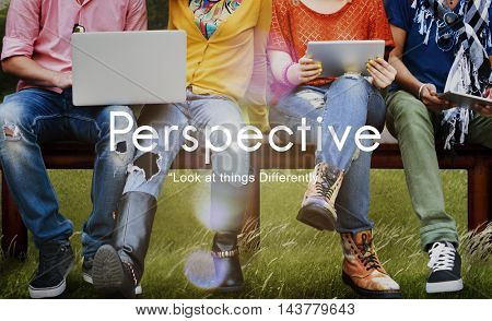 Perspective Attitude Standpoint Viewpoint Point of View Concept