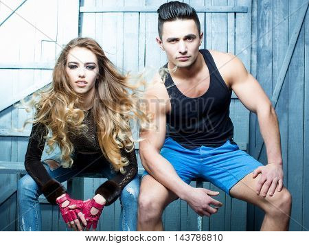 Cool Young Couple
