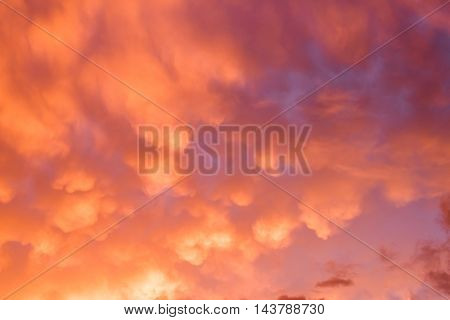 dramatic cloud over the sky with copyspace