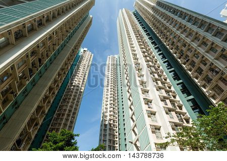 Apartment building to the sky