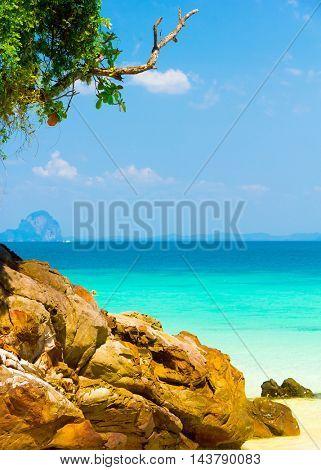 Green Fantasy Serenity Shore