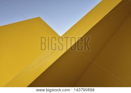 Abstract view of public art installation, Melbourne.